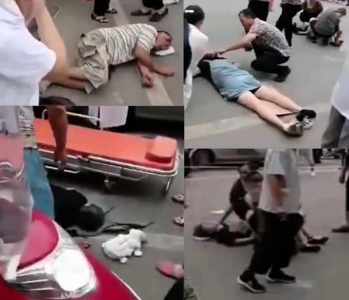 四川宜賓一中學門口發生撞人事故 至少9傷