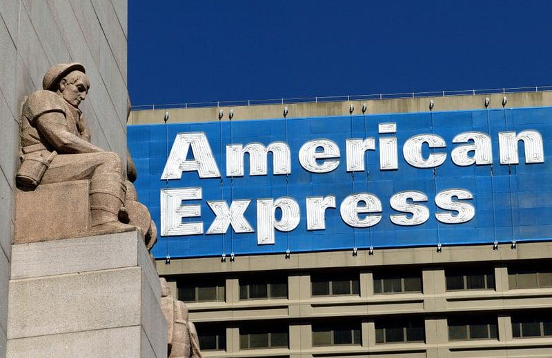 在11月底川習會之前,11月9日,美國運通公司(American Express Co)獲准在中國清算信用卡支付。而中共限制外企市場准入是美中貿易戰一個焦點問題。(GREG WOOD/AFP/Getty Images)