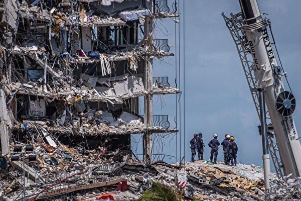 佛州大樓倒塌事件 9人喪生 逾150人仍失聯