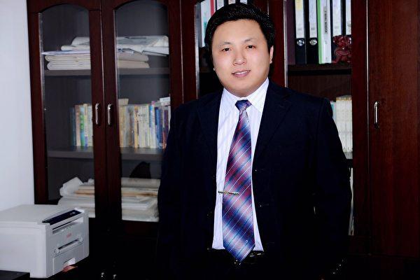 原北京人權律師陳建剛資料照。(大紀元)