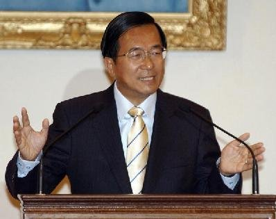 陳水扁:任總統時有港商拋5000萬求見