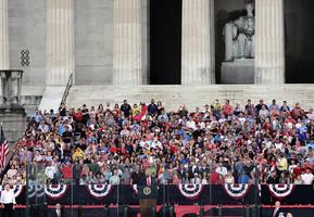 組圖:國慶日展軍威 美國精神讓國家強大