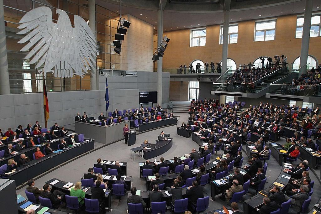德國聯邦議會正在開會。此圖攝於2012年。(Sean Gallup/Getty Images)