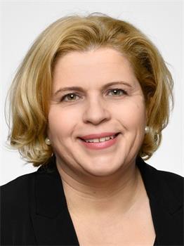 自民黨國會議員部本多弗爾-里希特(Sandra Bubendorfer-Licht, MdB, FDP)。(明慧網)