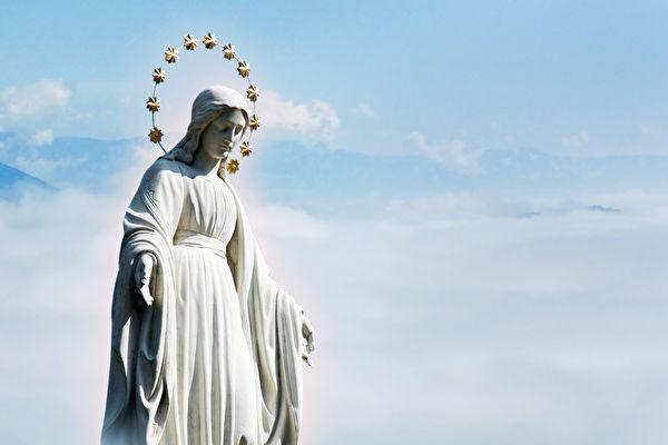 中共病毒肆虐下 聖母瑪利亞現身阿根廷天空?