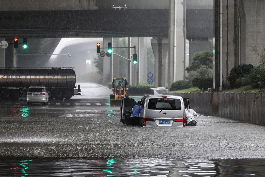 蔡英文對河南鄭州洪災罹難者表達哀悼