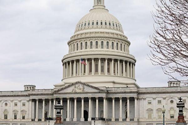 3月5日,美國眾議院以415票贊成、0票反對的壓倒性票數,通過「台北法案」。法案要求美國行政部門以實際行動協助台灣鞏固邦交及參與國際組織,並增強雙方經貿關係。圖為美國國會大廈外觀。(中央社)