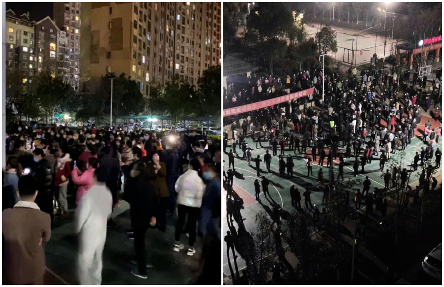 湖北應城抗議高價菜業主被捕 民眾:秋後算賬