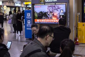 北韓又射2枚導彈 美國務院密切關注