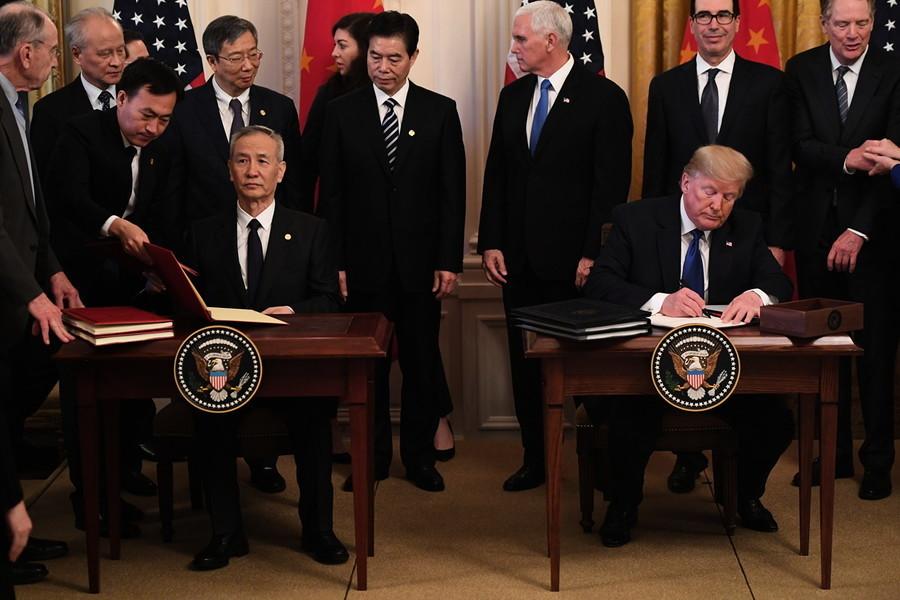 美發佈中美協議履行現狀 「特朗普兌現了承諾」
