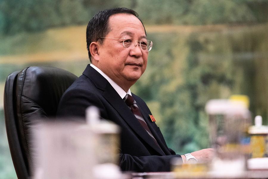 消息:北韓外相李勇浩已被撤換