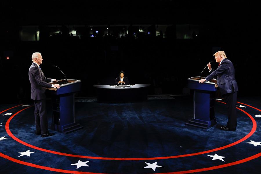辯論疫情處理 特朗普拜登以不同策略吸引選民