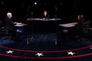 美副總統辯論共9個議題 彭斯7個佔上風