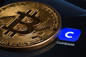 虛擬貨幣交易所Coinbase上市 股價震盪