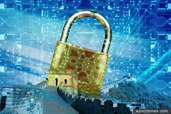 中共已經完成「掌控國內網絡」的近期目標,其遠期計劃是希望實現對全球網絡空間的掌控。(大紀元合成圖)