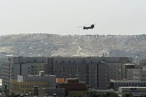 塔利班接管阿富汗 美德等國人員撤離(多圖)