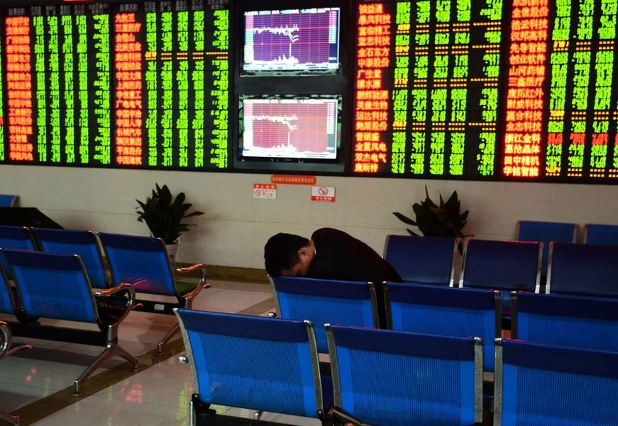 A股三大股指暴跌 中共肺炎疫情拖累全球股市重挫
