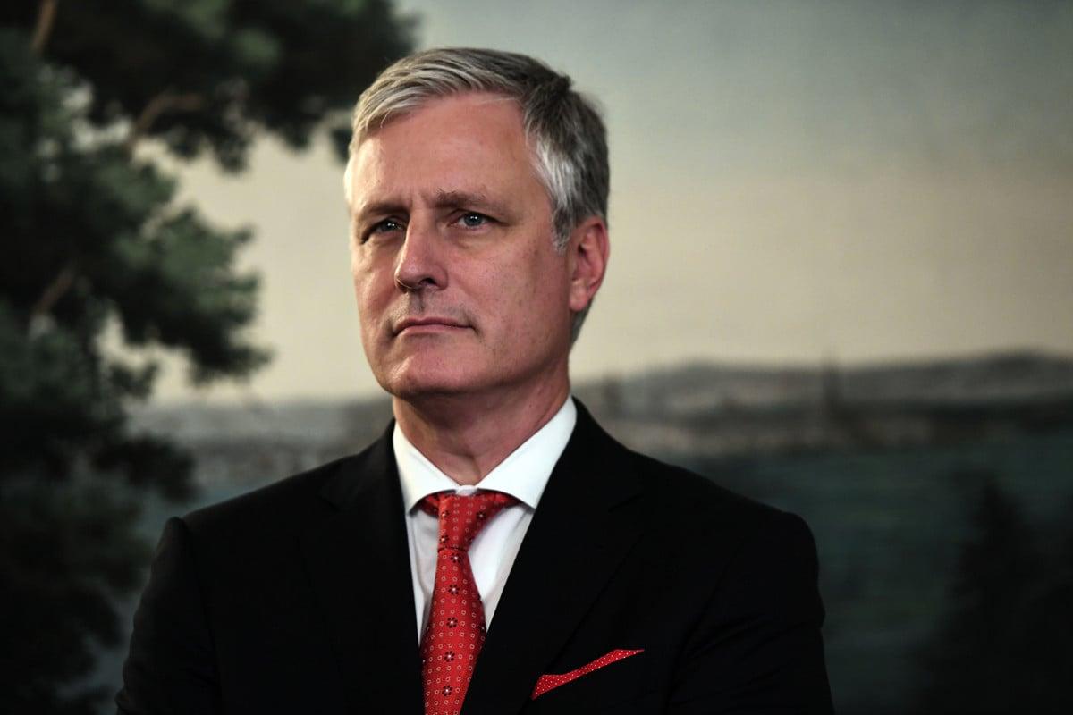 美國國家安全顧問奧布萊恩11月23日表示,美中在年底前達成貿易協議仍有可能。美國對香港問題不會視而不見。(SAUL LOEB / AFP)