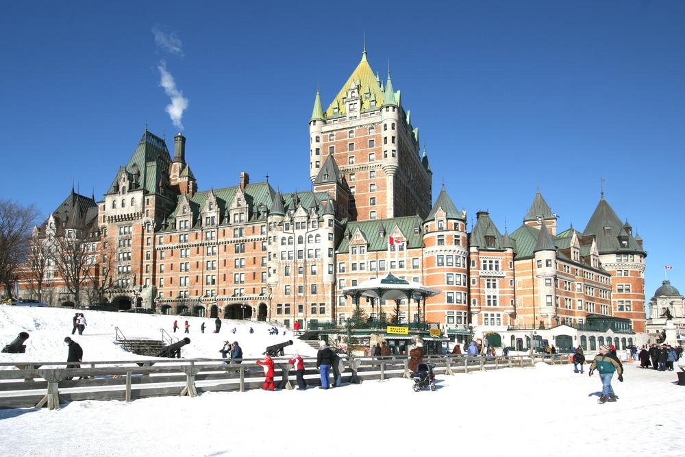 到加拿大旅遊的人,最喜歡魁北克。(Shutterstock)