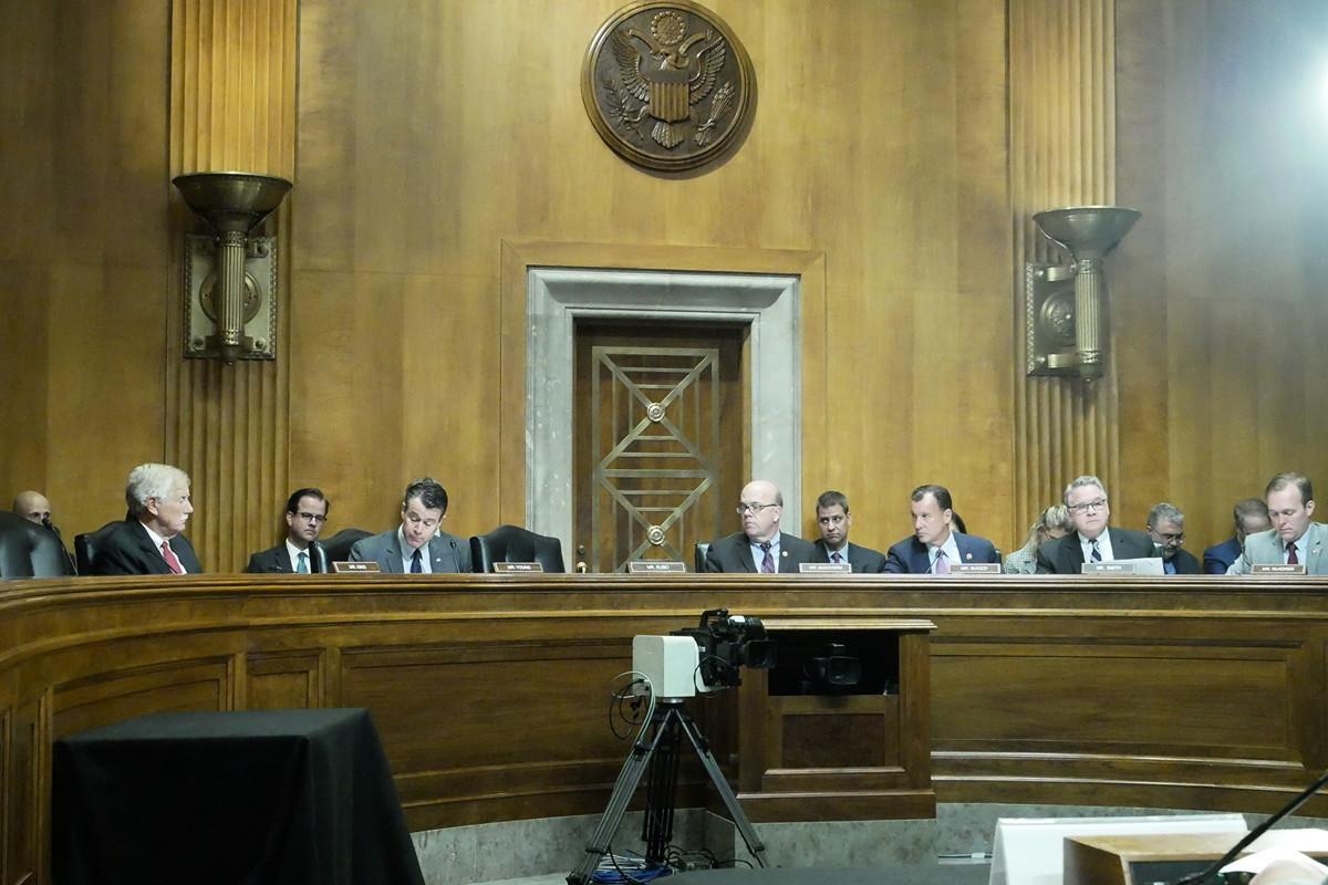 9月17日,美國國會及行政當局中國委員會(CECC)就香港局勢舉行聽證會。(李辰/大紀元)