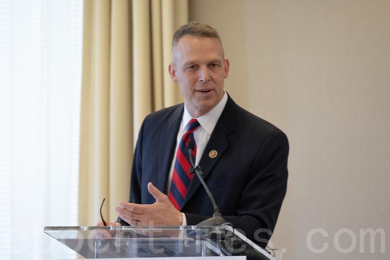 美國國會議員斯科特‧佩里(Scott Perry)。(林樂予/大紀元)