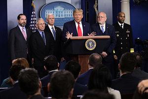 美國推出更多防疫措施 特朗普:民眾無需恐慌