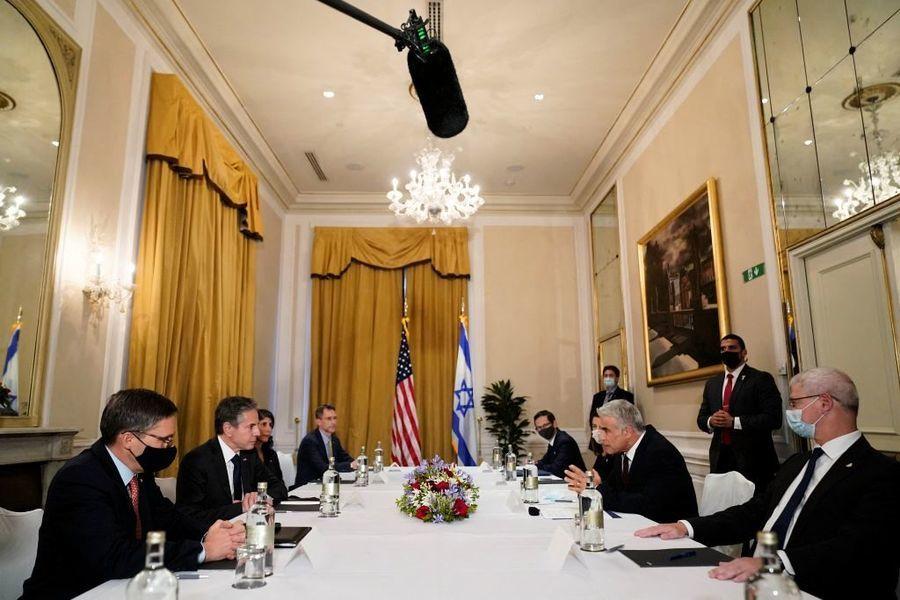 美以外長會面 談伊朗核協議和加沙等問題