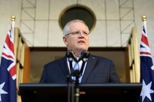 澳洲總理:澳疫情死亡率比英法低100倍