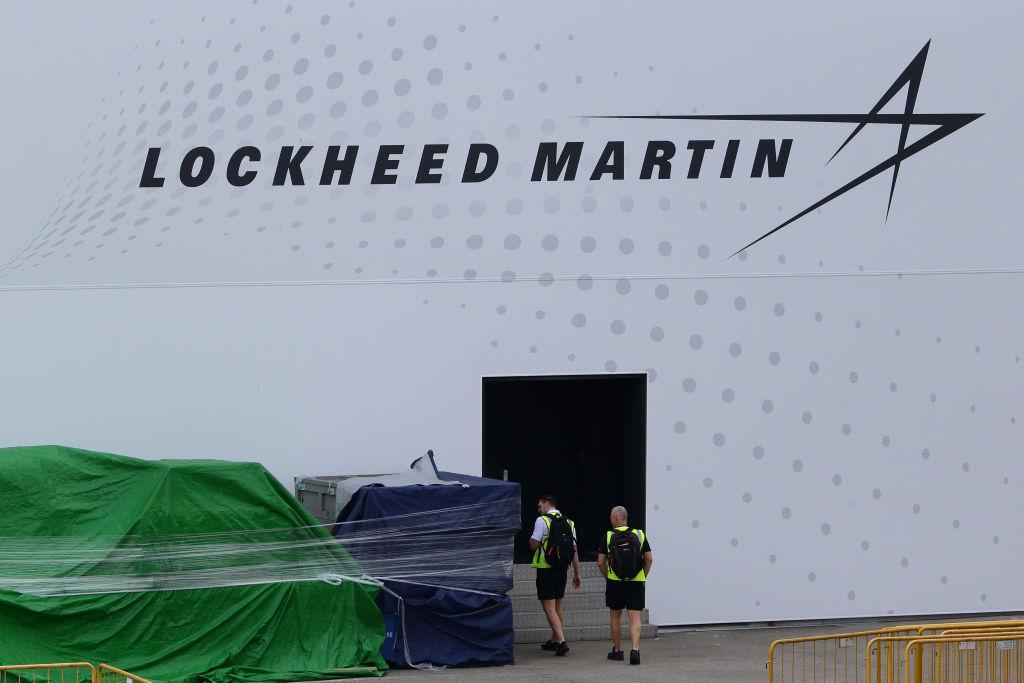 中共自稱要制裁美國洛克希德馬丁公司(Lockheed Martin)。(Suhaimi Abdullah/Getty Images)