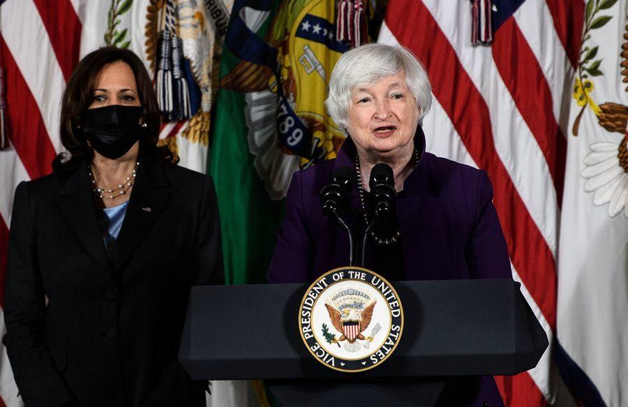 美國面臨違約風險 傳耶倫尋求華爾街幫助