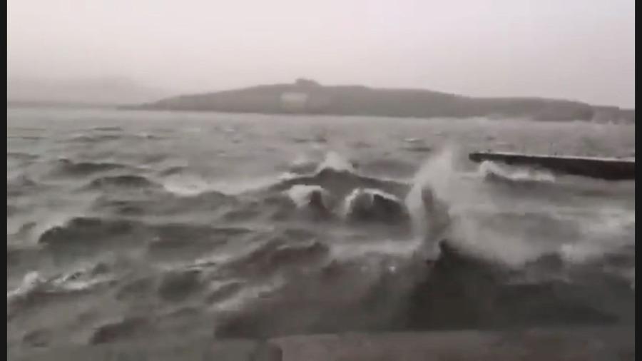 北京昆明湖罕見漲潮 傳上次漲潮後毛澤東去世