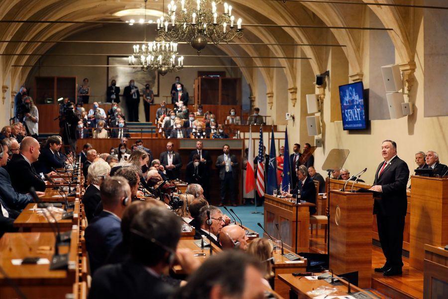 【重播】蓬佩奧捷克演講:共產威脅更嚴峻