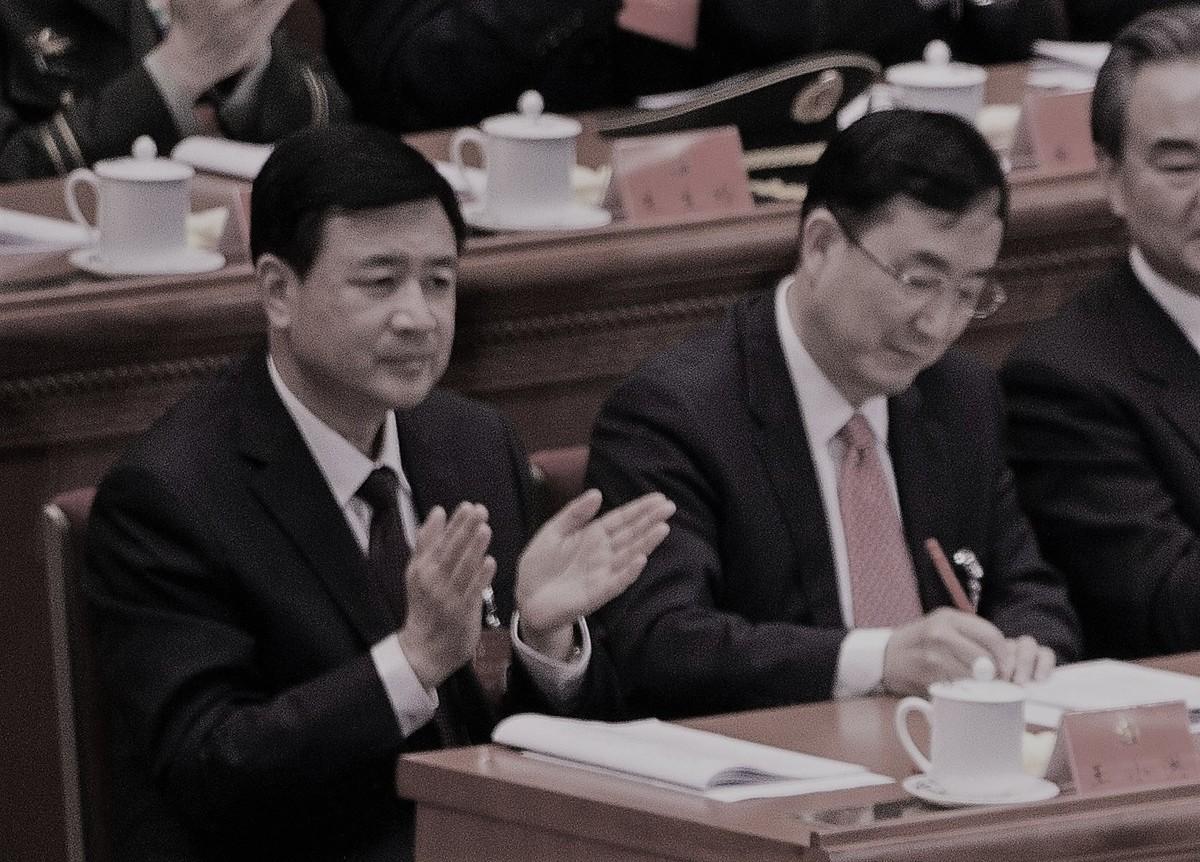 公安部常務副部長王小洪(左)是習近平的福建舊部。(NICOLASASFOURI/AFP/Getty Images)