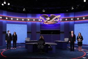副總統辯論最後一問題 彭斯回答贏全場掌聲