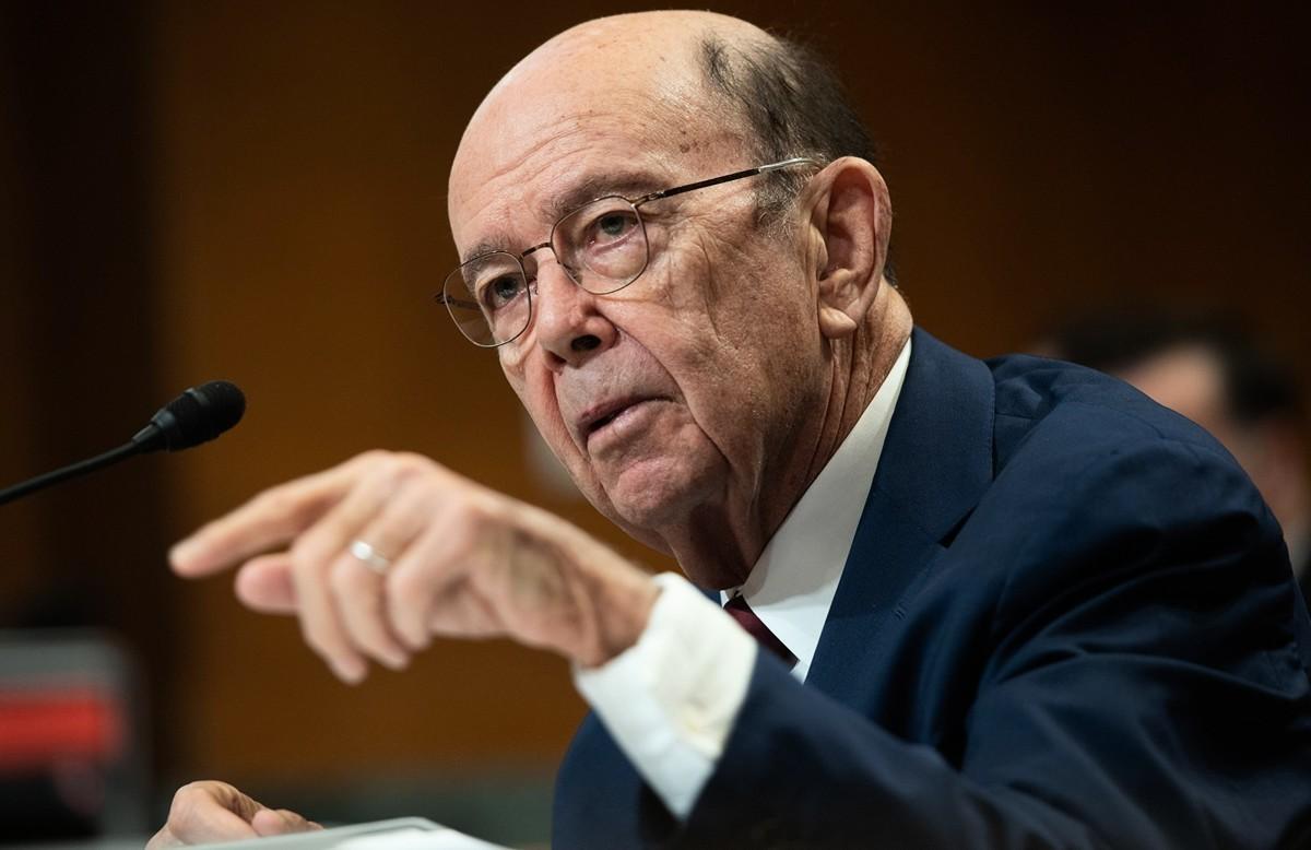 美國商務部長羅斯(Wilbur Ross)2020年6月23日表示,華為的最新禁令沒有漏洞,美國政府將積極執法。圖為資料照。(SAUL LOEB/AFP)