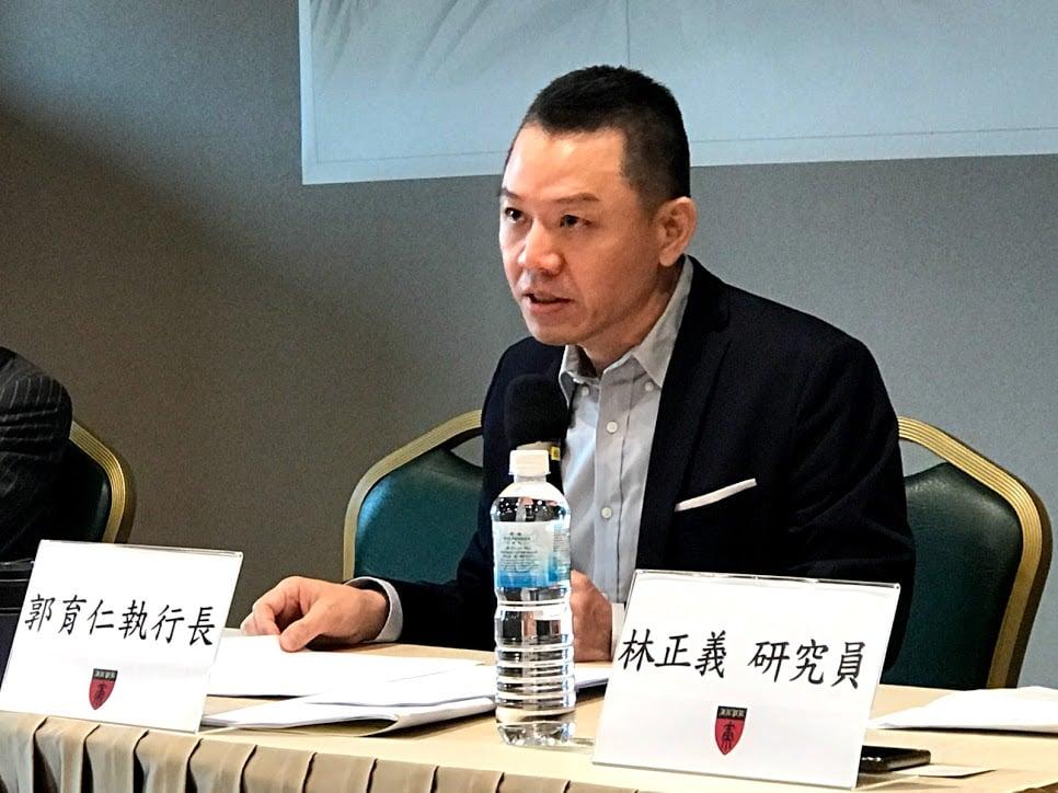 財團法人國策研究院文教基金會行政總裁郭育仁認為,相對來說,特朗普連任對台灣較為有利。(資料照)(李怡欣/大紀元)
