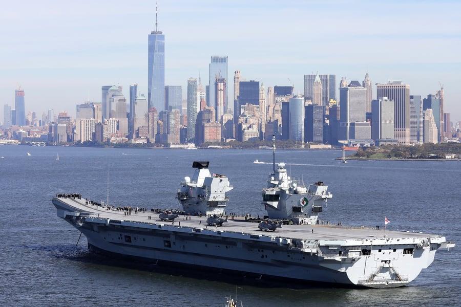 澳美日荷將加入英國航母群 向中共展示軍力