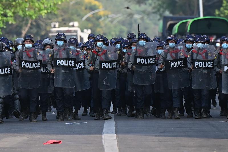 譴責緬甸向平民開火 澳洲暫停國防合作協議