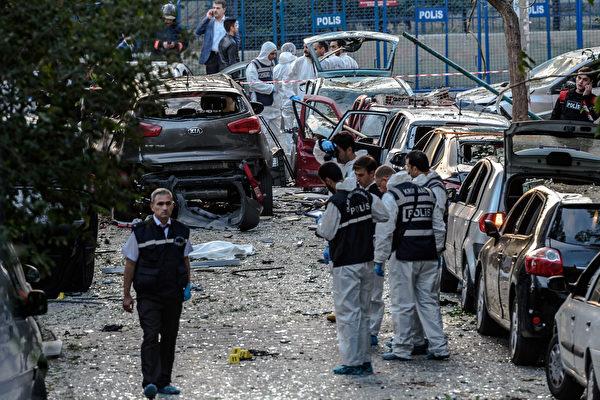 美發土國旅行警告 促外交官家屬撤離