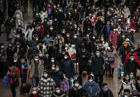 夏小強:中國面臨疫情再次爆發 民眾需自救