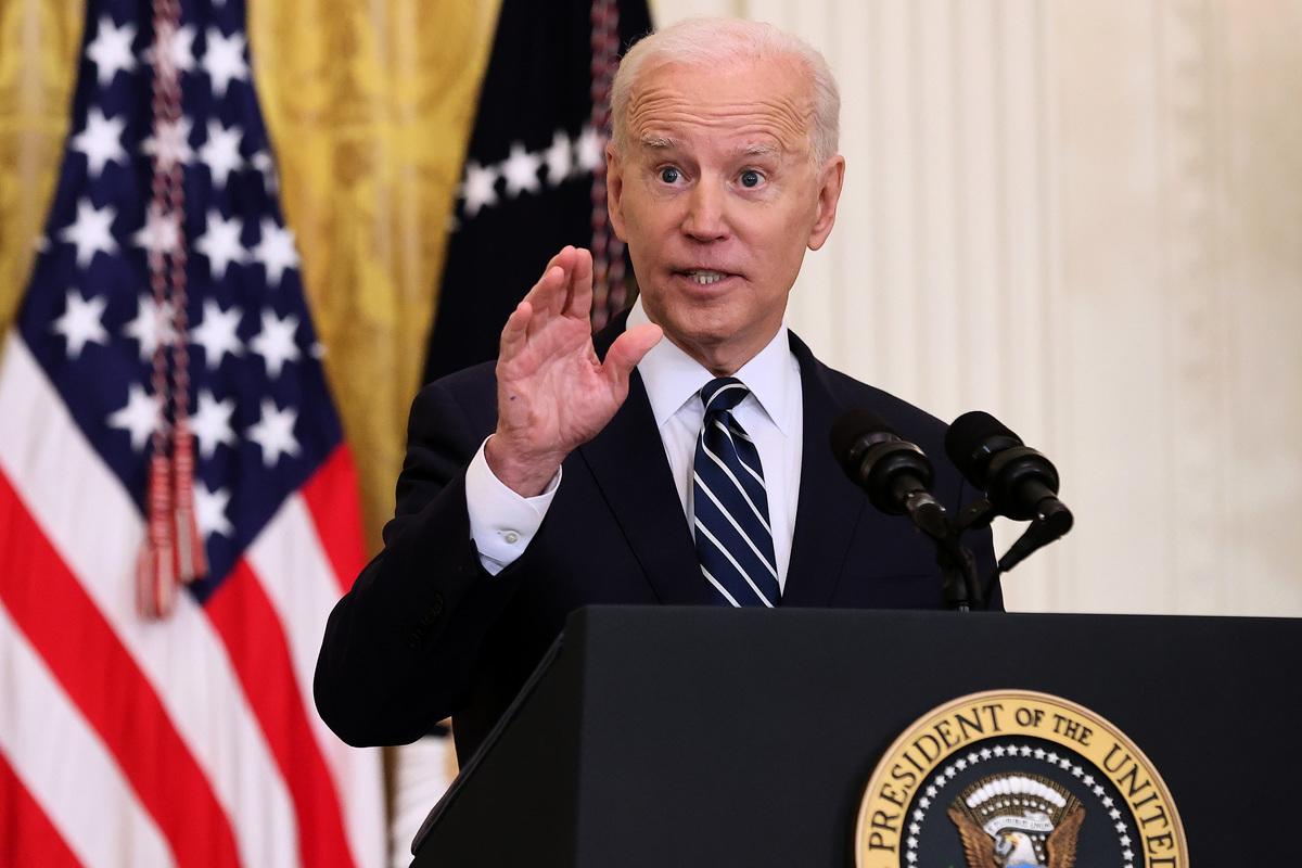 美國總統拜登邀請習近平和普京參加4月份舉行的氣候峰會。(Chip Somodevilla/Getty Images)