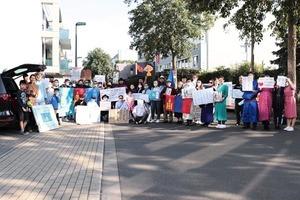 蒙人中領館抗議 德人權組織:中共霸權越加明顯