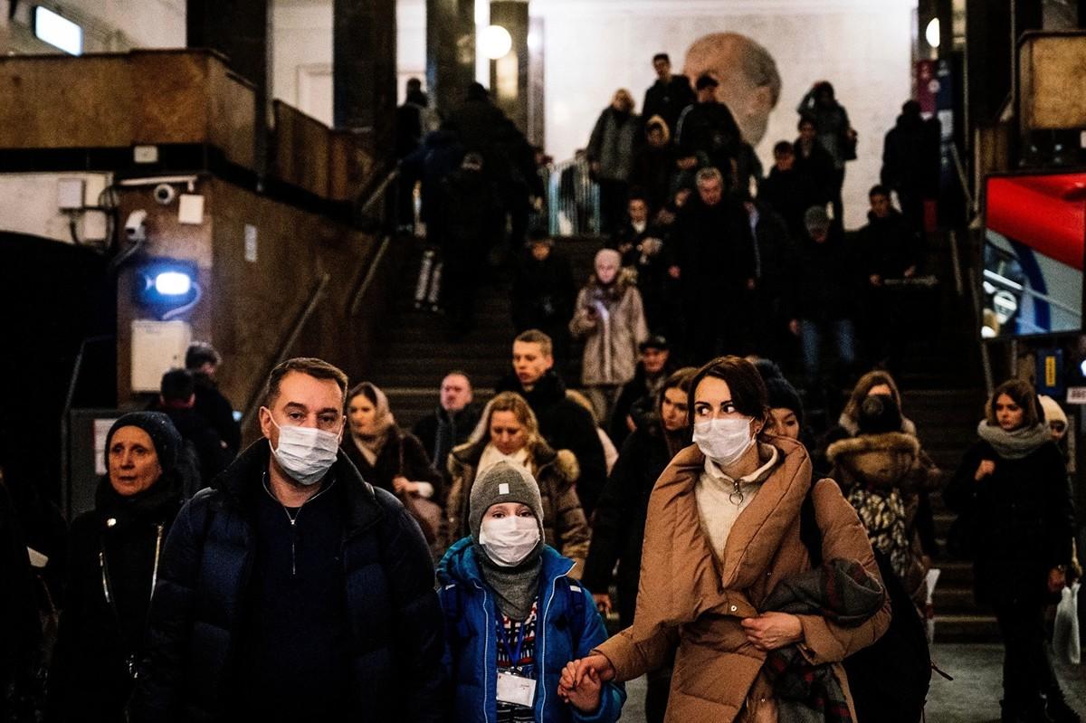 中共肺炎(俗稱武漢肺炎、新冠肺炎)疫情引發恐慌,俄羅斯也對中國人下了旅行禁令。(Dimitar DILKOFF / AFP)