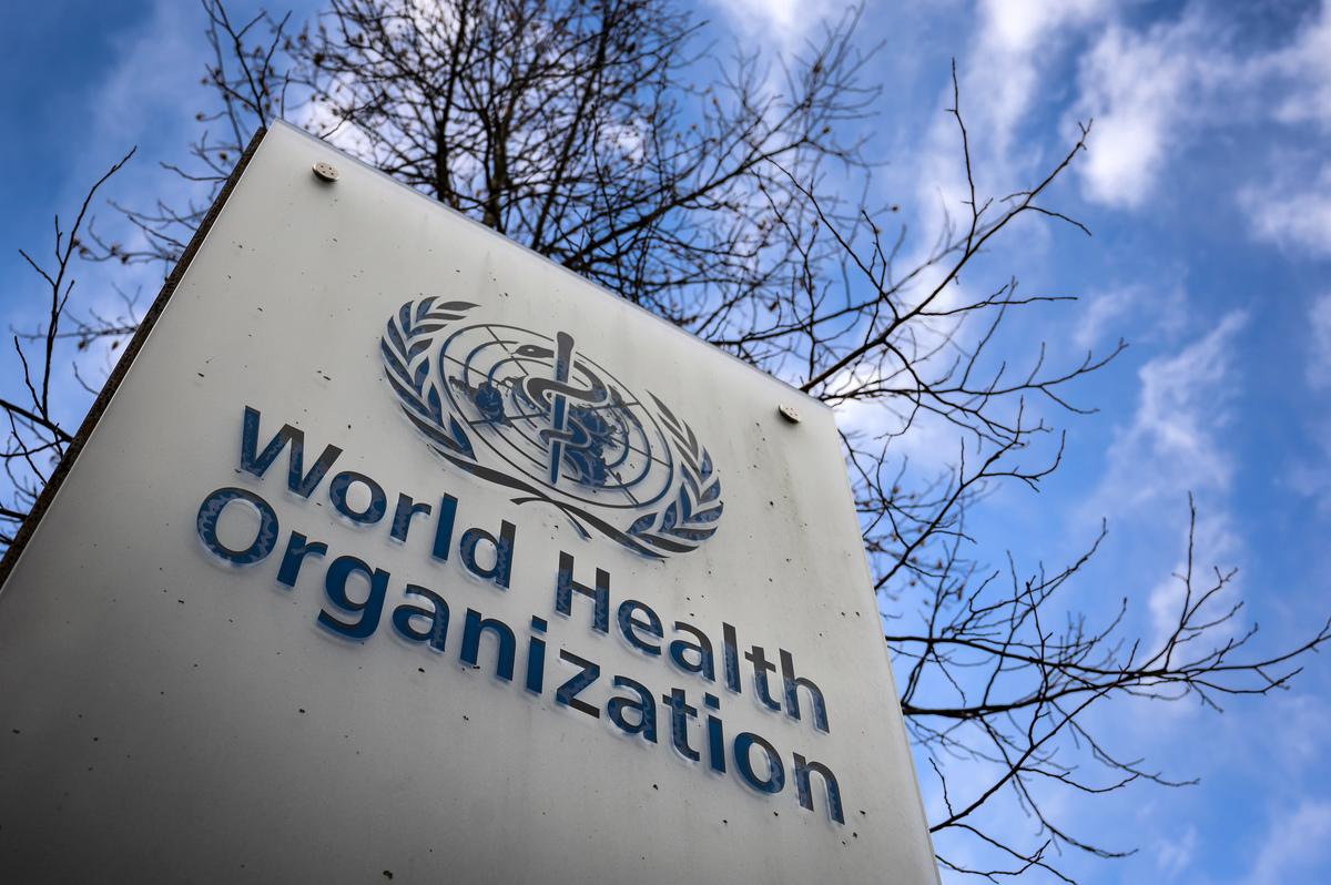 圖為世界衛生組織。(FABRICE COFFRINI/AFP via Getty Images)
