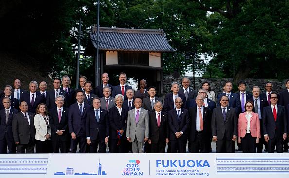 6月8日,二十國集團(G20)財長會議在日本福岡舉行。(FRANCK ROBICHON/AFP/Getty Images)