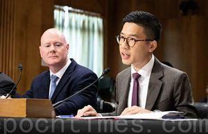 美參院香港緊急狀況聽證會 探討援助途徑