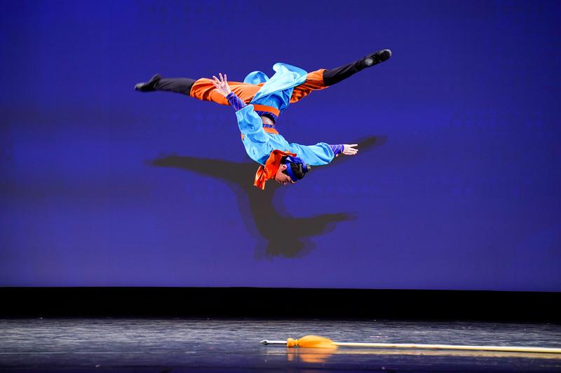 【圖攝】第九屆中國古典舞複賽青年男子組風采