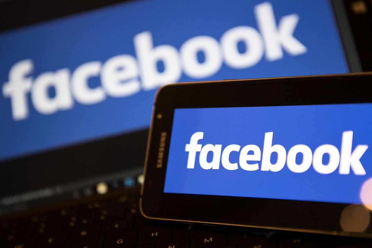 路透社獨家爆料,臉書不再允許華為手機預裝其應用程式。(JUSTIN TALLIS/AFP/Getty Images)