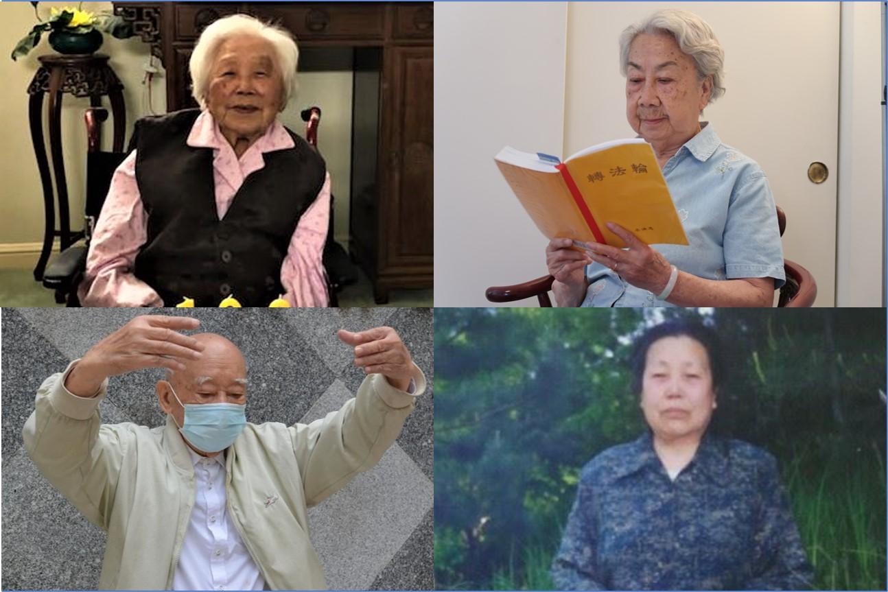 長壽健康是是每個人的願望,這個願望可以實現嗎?這些長壽老人的經歷告訴你秘密。(大紀元合成)