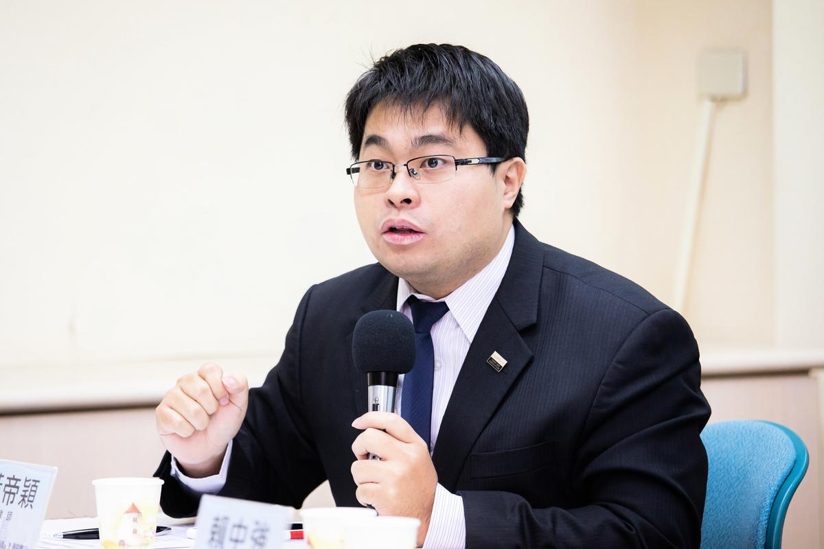 台灣律師黃帝穎。資料圖(陳柏州/大紀元)
